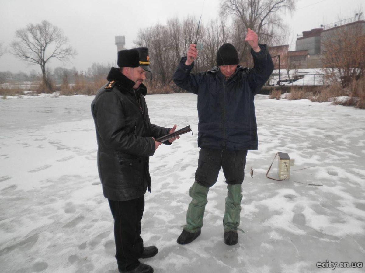 Рейдовая проверки мест вылова рыбы в Черниговской области