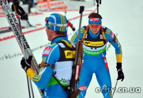 Черниговец Сергей Семенов - 4 в спринте этапа Кубка мира по биатлону