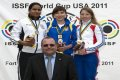 Елена Костевич - победительница этапа Кубка мира по стрельбе