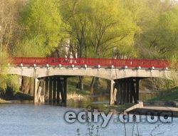 История: красный мост в Чернигове