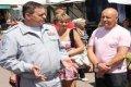 Начальник Черниговской милиции Александр Михайлик провел прием для жителей Прилук. ФОТО