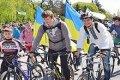 Велопробег за единство Украины в Чернигове