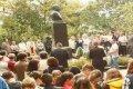 В Чернигове отметили 151 годовщину со дня рождения М. Коцюбинского. ФОТО