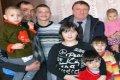 Многодетные семьи в Черниговской области получили подарки. ФОТО