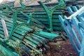 В Чернигове со стометровки забрали парковые скамейки для ремонта