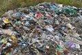 Мусор из Львова выбросили посреди села в Черниговской области