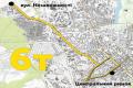 Изменена схема движения троллейбуса № 6 в Чернигове