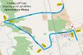 На выезде из Чернигова в направлении Гомеля – объезд. ВИДЕО