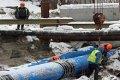 Реконструкция канализационного дюкера через реку Стрижень в Чернигове. ФОТО