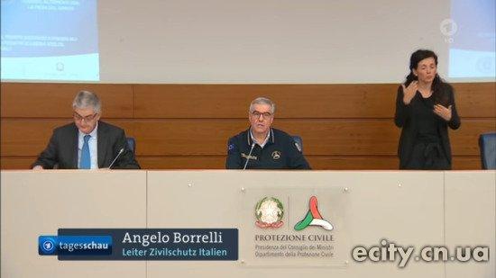 Анджело Боррелли, глава итальянской службы гражданской защиты, подчеркивая разницу между смертями от коронавирусов и от коронавирусов.