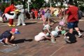 В Чернигове на Аллее Героев - территория радости для детей. ФОТО