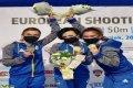 Елена Костевич завоевала золото в стрельбе из пневматического пистолета в составе сборной Украины