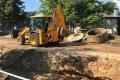 В Чернигове ремонтируют улицу Киевскую. ФОТО